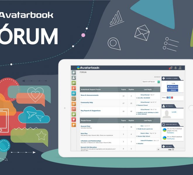 avatarbook-mockup-forum